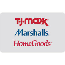$25 / $50 / $100 Marshalls Gift Card - Mail Delivery