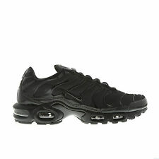 NIKE AIR MAX PLUS TUNED TN 1 ALL BLACK MEN 604133-050 MUTLIPLE SIZE NEW BOX