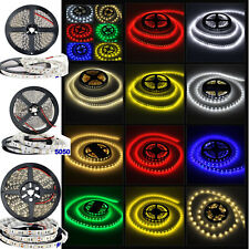 5M 3528 5050 300/600 / 150LEDS SMD 6 Color white Flexible strip light home Lamp