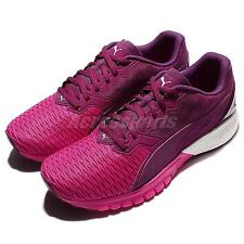 Puma Ignite Dual Wns Purple Pink Women Running Shoes Sneakers Trainers 189148-03