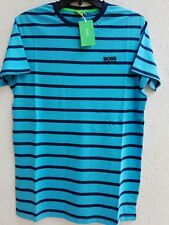 Hugo Boss Green Label Short Sleeve Round Neck men t shirts 100% Cotton S,M,L,XL