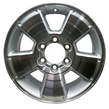 New 17x7.5 Alloy Wheel Bright Sparkle Silver Painted with Machined Face-69463