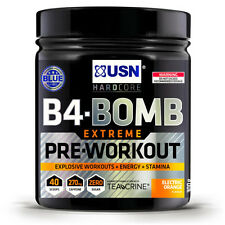 USN B4-BOMB EXTREME New Formula 300g Pre Workout Energy Muscle Supplement Drink