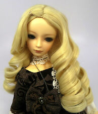 Doll Wig Giant Curls Blonde BJD Ball Jointed Doll Size 7, 8, 9, 10 NEW