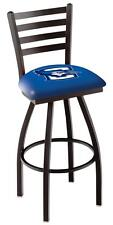 Creighton Bluejays Swivel Bar Stool with Ladder Back