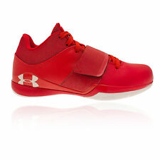 Under Armour Micro G Bloodline Mens Red Basketball Sports Shoes Trainers