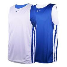 Nike Mens Vest Reversible Tank Top Basketball Jersey Sports Gym Running Training