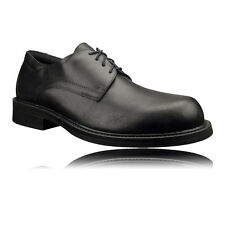Magnum Active Duty Mens Black Full Leather Formal Lace Up Workwear Shoes
