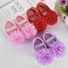 Baby Kid Girl Cute Chiffon Soft Toddler Walking Shoes Newborn 0-18 Month Shoes