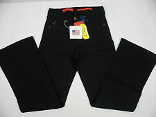 NYDJ Not Your Daughters Jeans #400B Tummy Tuck Black Size 26 Waist #2395