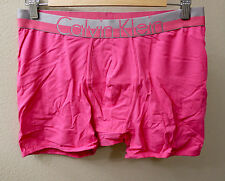Calvin Klein CK Men Pink Magnetic cotton stretch boxer brief Underwear size L