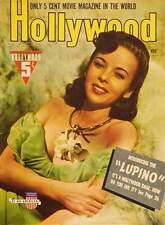IDA LUPINO Movie POSTER 27x40 Hollywood Magazine Cover 1930's Ida Lupino