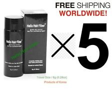 Hair Loss Bold Spot Concealer-Hair Building Fibers [Travel Size / 8g] x 5 UNITS