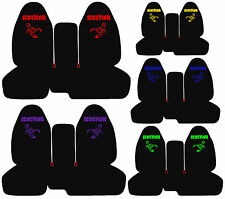 cc FORD RANGER CAR SEAT COVERS SCORPION FRONT 60-40seat Highback backrest choose