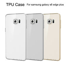 Ultra Thin Crystal Clear Silicone Gel Case Cover For Samsung Galaxy S6 Edge