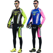 2016 DS Cycling Sets Bicycle Bike Long-sleeved Jersey&4D Padded Pants Suits