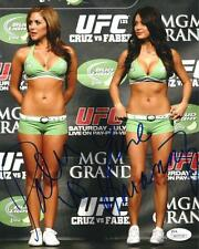 ARIANNY CELESTE & BRITTNEY PALMER DUAL SIGNED 8X10! UFC PRIVATE SIGNING JSA COA