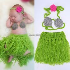 Newborn Boy Girl Baby Crochet Knit Costume Photography Photo Prop Outfit NEW