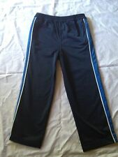Boy's Long Leg Track Pants, Blue or White Stripe, Size: 4 Left Only, BNWT!!!