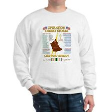 OPERATION DESERT STORM* GULF WAR VETERAN* BATTLE & CAMPAIGN SWEATSHIRT