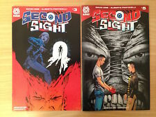 SECOND SIGHT #3, 5 (1st PRINT COLLECTION) AFTERSHOCK HORROR COMICS 2016