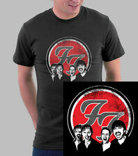 FOO FIGHTERS T-shirt Dave Grohl T Shirt Nirvana Unisex Black Shirts - 004