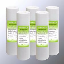 "5 Micron Active Sediment Water Filters Ro Systems Filter 2.5"" X 10"""