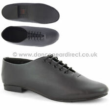 Black Leather Economy Full Sole Dance Modern Jazz Shoes Girls Childs Ladies 7500