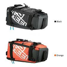 Sports Cycling Bicycle Bike Pannier Rear Seat Bag Rack Trunk Bag Pack Pouch W4H3