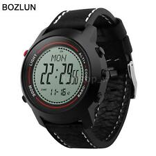 BOZLUN Military Army Sport Running Watch 5ATM Altimeter Barometer Compass W8Z4