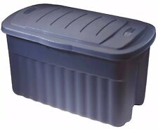 Rubbermaid Roughneck 40 Gallon Hinged Jumbo Storage Box Extra Protection