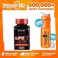 NUTREX LIPO 6 RX 60 CAPSULES FAT BURNER WEIGHT LOSS ULTRA CONCENTRATE