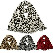 New Pretty Long Soft Women's Fashion Leopard Scarf Wrap Shawl Stole Scarves X3M3