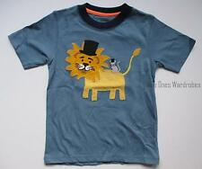 Gymboree Circus Cutie Blue Lion Tee Shirt Top Boys 2T 3T 4T NEW NWT