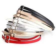 Detachable Leather Shoe Straps Band SHOELACE for Holding Loose High Heeled Shoes