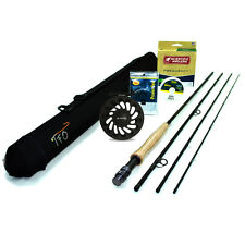 "NEW - TFO Professional II Fly Rod Outfit (4wt, 8'6"", 4pc)  - FREE SHIPPING!"