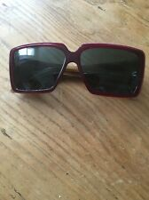 VERSACE LADIES SQUARE SUNGLASSES MOD 4142 B 141/71 57012 135 3N GOOD CONDITION