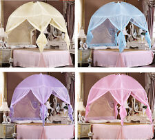 Lace Princess Bedding Canopy Mosquito Net Tent  For Twin Queen King Bed Size