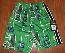 NWT Youth SOCCER LACROSSE SHORTS FLOW SOCIETY Retro Soccer Print  L...XS