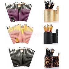 20Pcs Makeup Brushes Kabuki Eye Face Brush Cosmetic Beauty Tool with Holder Case