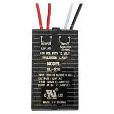 75 Watt  Electronic Transformer 12V AC for Halogen Lamp - SL-518 Volume Pricing