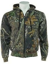 Mens Camouflage Camo Tree Print Lined Zip Through Hoodie REDUCED FOR QUICK SALE