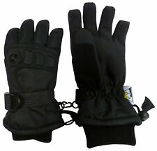 NICE CAPS Mens Extreme Cold Weather Premier Colorblock Ski Waterproof Gloves