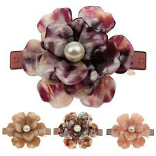 Elegant Barrette Hair Clip Vintage Fashion Pine Flower Hairpin Hair Ornaments