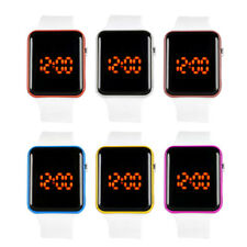 Silicone LED Men Womens Watches Sport Watch Touch Digital Bracelet Wrist Watches
