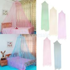 Round Bed Net Curtain Dome Bed Canopy Netting Princess Mosquito Net Multicolor