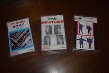 ++ BEATLES Tapes / Cassettes + MIDDLE EAST + Help + White Album + RARE ++ SEALED