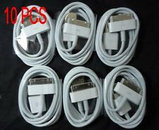 10 PCS USB Sync Data Charging Charger Cable Cord for iPhone 4 4S 4G 4th IPOD