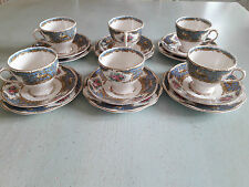 PRETTY BONE CHINA TEA SET  MADE BY  FOLEY CHINA DECORATED IN 'MONTROSE' PATTERN