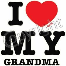 Grandma or Grandpa I Love Shirt Toddler new baby boy girl clothes shower US Sz